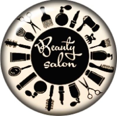 Snap button Hairdresser Beauty Salon 18mm charm chunk interchangeable