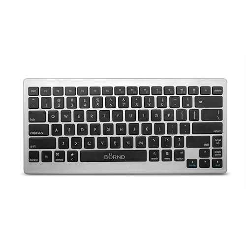 Bornd B33 Wireless Bluetooth 3.0 Keyboard for Tablets and Desktops