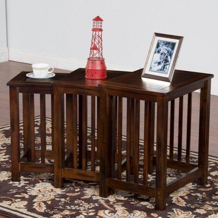 Sunny Designs Santa Fe Nesting Table - Set of 3