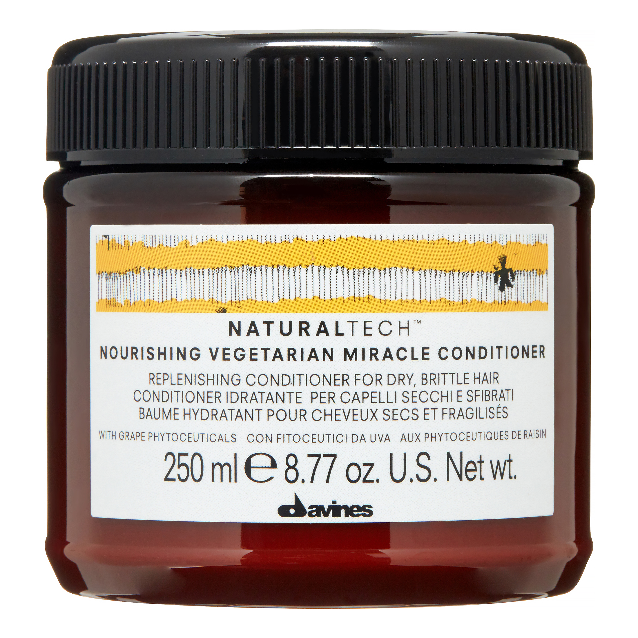 Davines Naturaltech Nourishing Vegetarian Miracle Conditioner, 8.77 Oz