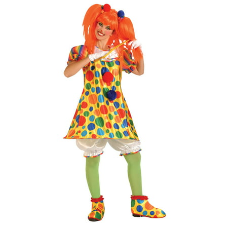 Women's Giggles the Clown Costume - Girl Clown Costume Ideas