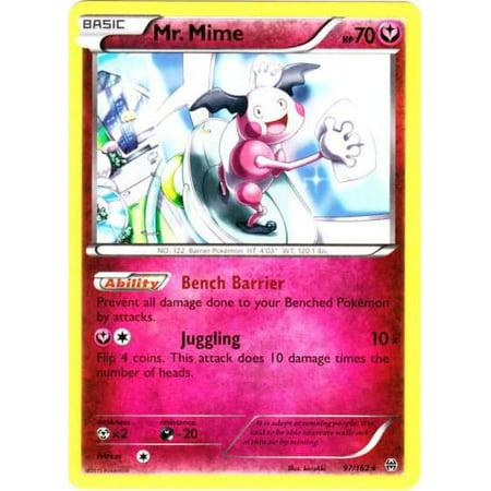 Mr Mime Pokemon - Pokemon X & Y BREAKthrough Single Card Rare Mr. Mime #97