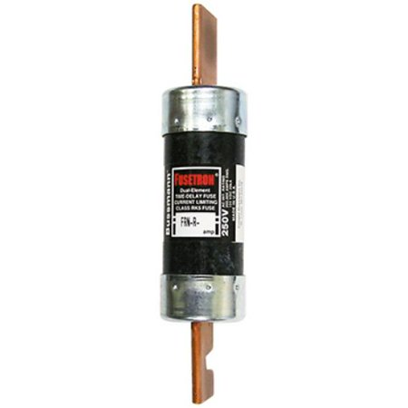 BP/FRN-R-100 100 Amp Fusetron Dual Element Time-Delay Current Limiting Class RK5 Fuse, 250V Carded UL Listed By Bussmann Ship from US