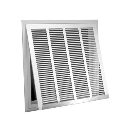 Two Grilles (American Metal Products 326W20X20 20x20 WHT Air Grille - Quantity)
