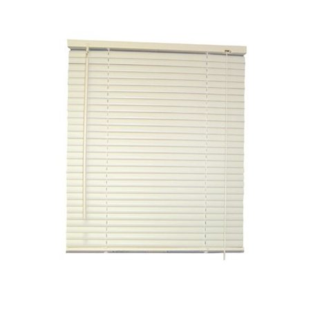 Designer S Touch 1 Inch Aluminum Mini Blinds White 43x60 In Walmart Com