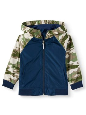 Wonder Nation Toddler Boy Zip-up Hoodie Lightweight Jacket