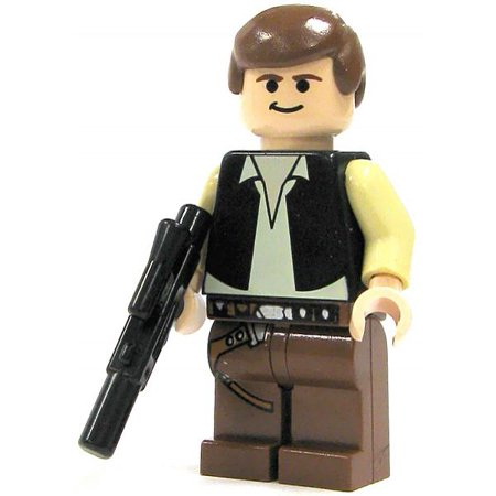 LEGO Star Wars Loose Han Solo Minifigure [A New Hope (Solo Building)