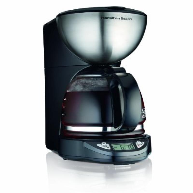 Hamilton Beach 49755 Programmable 12 Cup Coffeemaker - St...