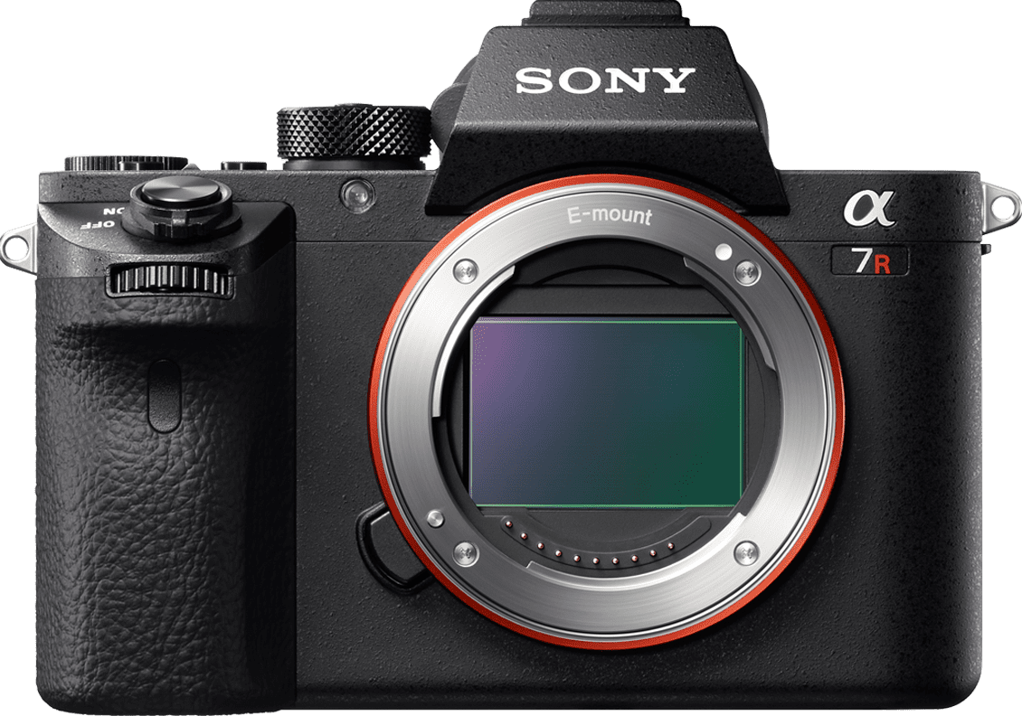 Sony Alpha a7R II Full-frame Mirrorless Interchangeable-Lens Camera Black by Sony