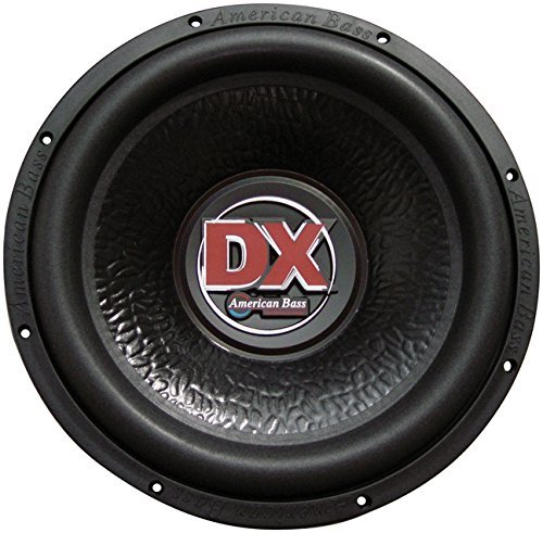 "American Bass DX104 600 W Max 10"" Single 4-Ohm Voice Coil Car Audio Subwoofer"