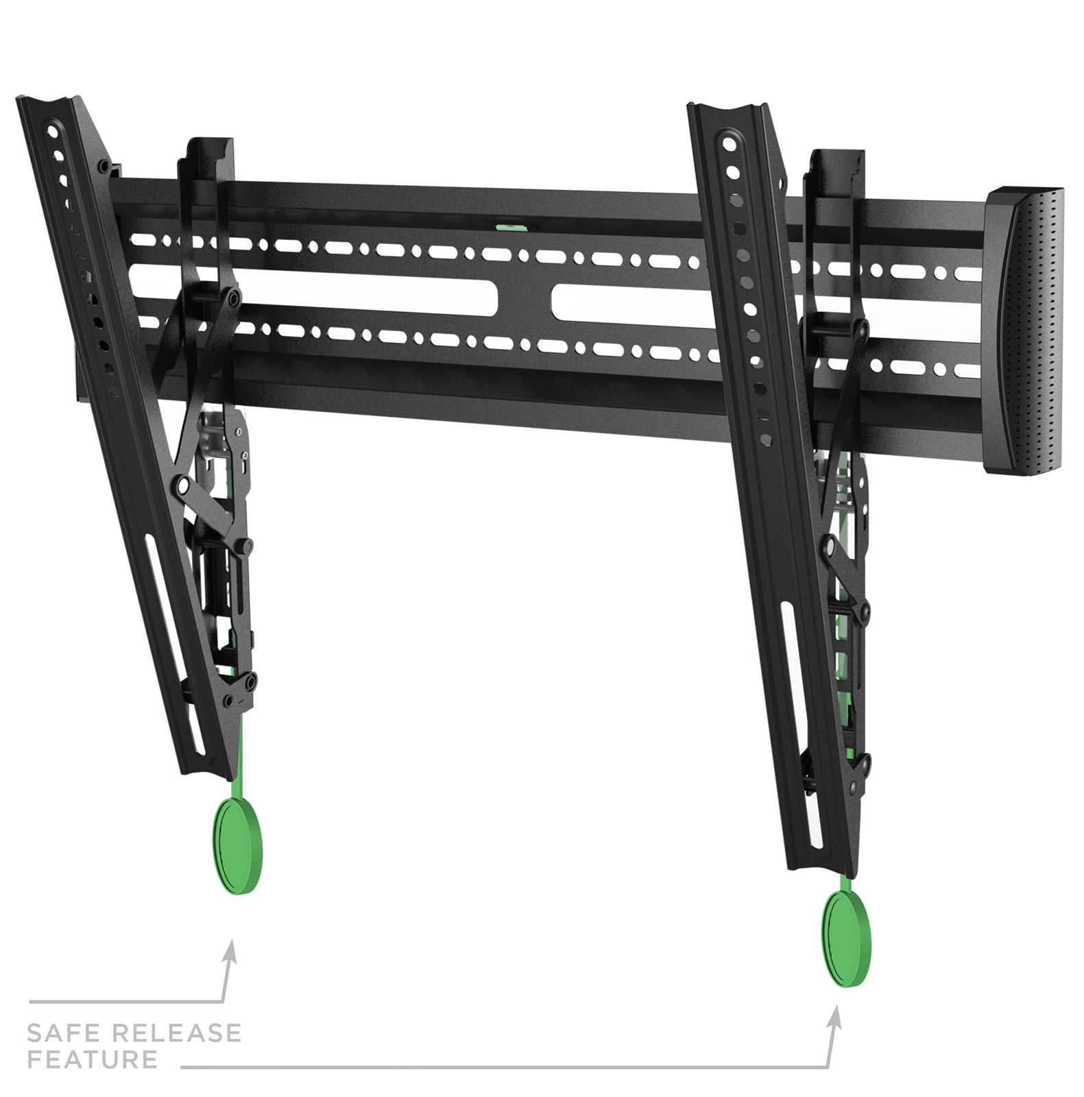 MOUNT FACTORY Universal Tilting Low Profile TV Wall Mount Bracket for 32-65 inch TV by Mount Factory