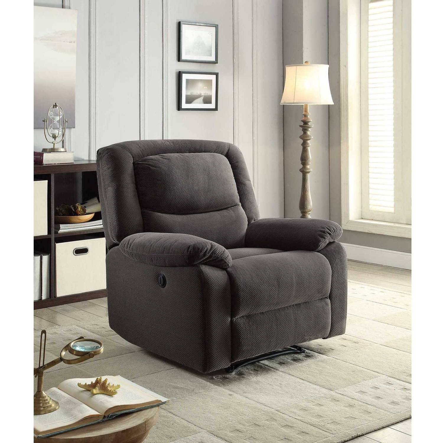 Serta Power Recliner, Grey