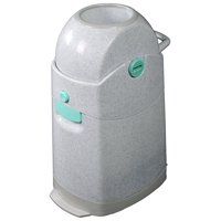 Deals on Creative Baby Tidy Diaper Pail, Marble