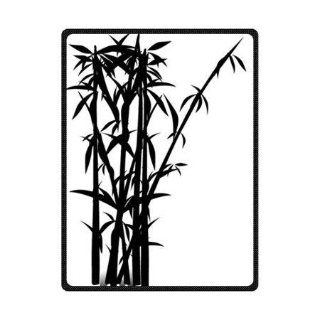 CADecor Bamboo Fleece Blanket Throw Blanket 58x80 inches ()