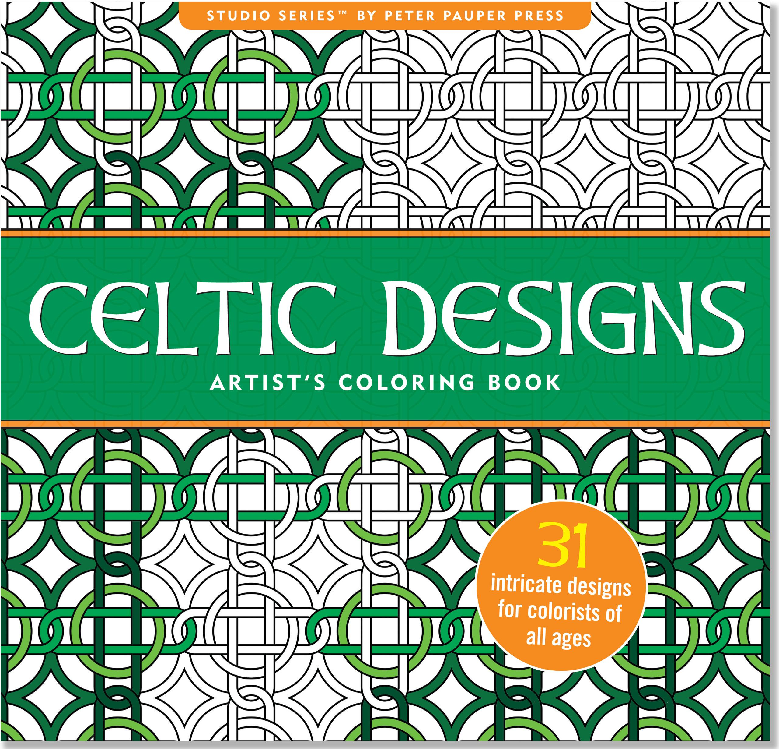 Celtic Designs Artist's Coloring Book (Other)