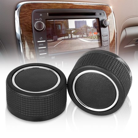 2 Pack Rear Radio Audio Volume Control Knob,Volume Control Button For 07-13 Chevy Tahoe Chevrolet Silverado GMC Acadia Sierra Denali Yukon GM 22912547 Dial Tuner Premium Replacement