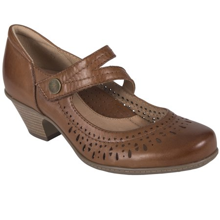 Earth Dione Women's Classic Leather Mary Janes (Earth Shoes From The 70s)