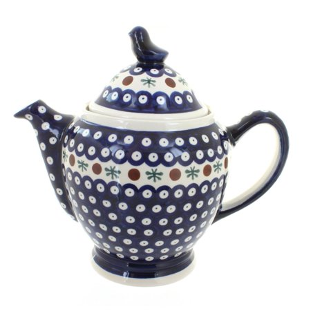 Polish Pottery Nature Coffee Pot