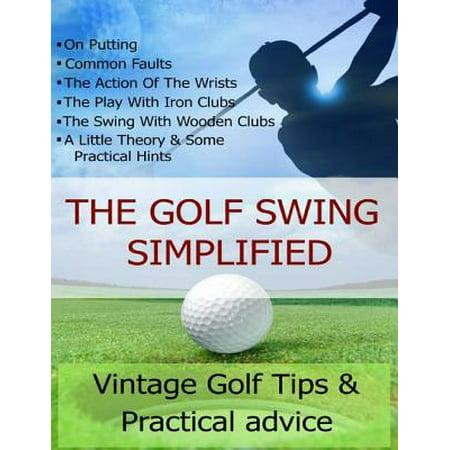 The Golf Swing Simplified - eBook