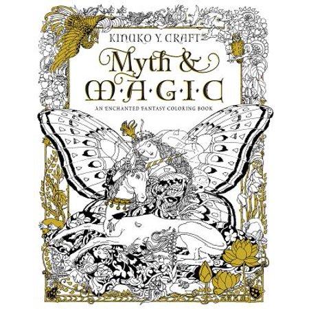 Book Craft (Myth & Magic : An Enchanted Fantasy Coloring)