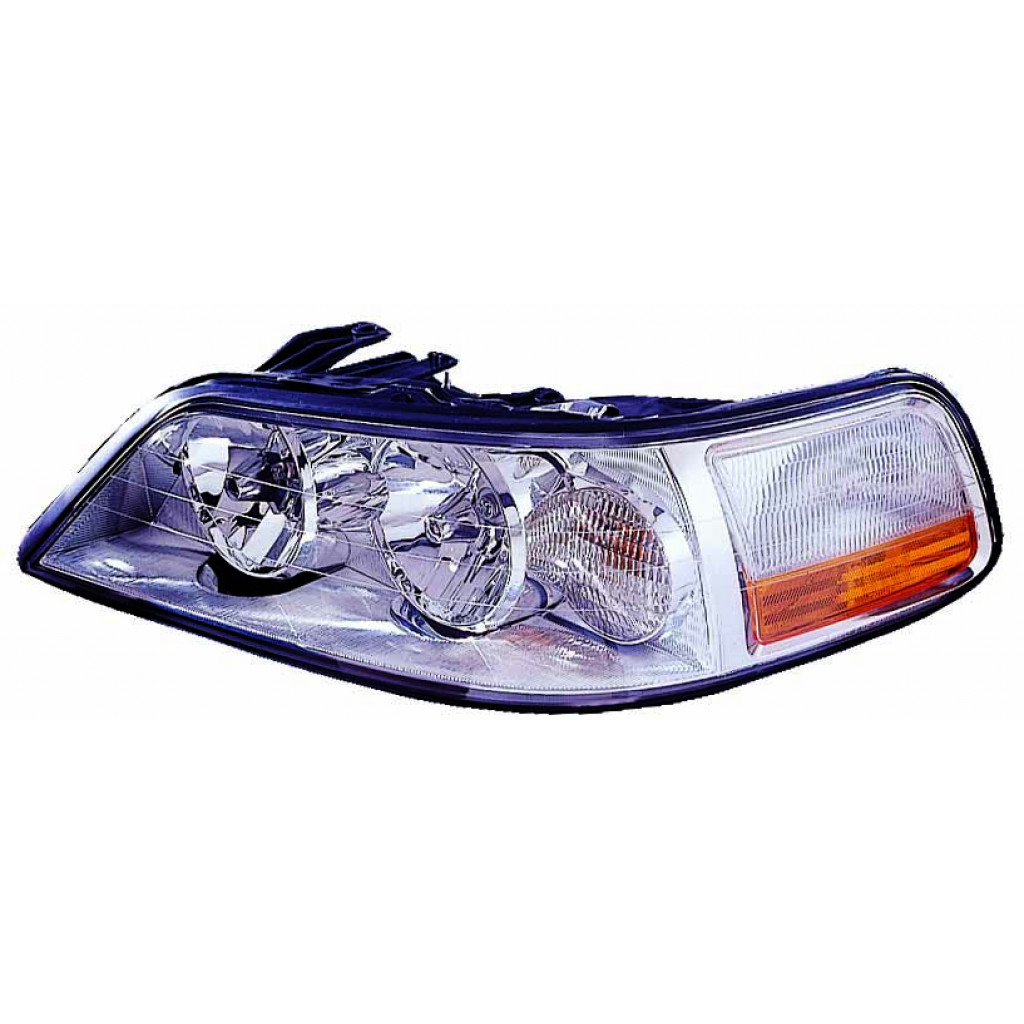 For Lincoln Town Car Headlight Assembly 2003 2004 Driver Side W  O Hid Capa For Fo2502184