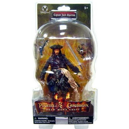 Pirates of the Caribbean Dead Man's Chest Captain Jack Sparrow Action Figure - Captain Jack Sparrow Based On