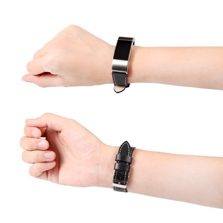 Iuhan New Luxury Leather Band Bracelet Watch Band For Fitbit Charge 2