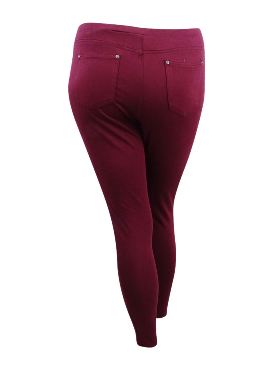 0f71c39430627 Style & Co Women's Twill Pull-On Legging (L, Orchard Vine)
