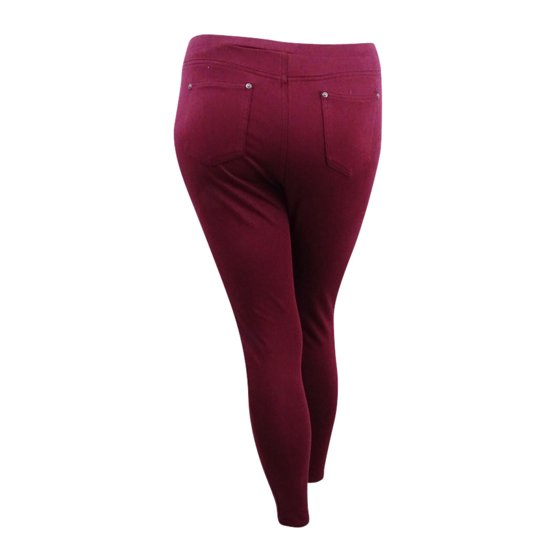 de770762d9d77 Style & Co - Style & Co Women's Twill Pull-On Legging (L, Orchard ...