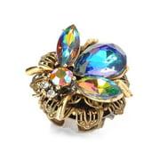 Sweet Romance  Queen Bee Swarovski Element Crystal Ring