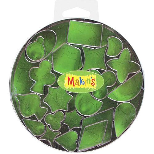 Makin's Clay Cutter Set, Geometric, 22/pkg