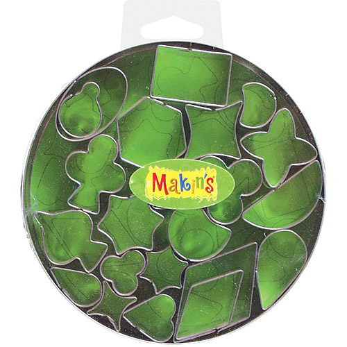 Makin's Clay Cutter Set, Geometric, 22/pkg