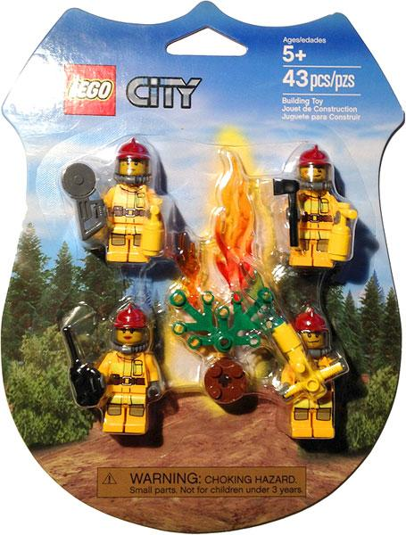 City Fire Fighters Rescue Pack Set Lego 853378 by