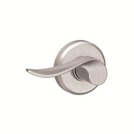 Schlage F Series Sacramento Single Dummy Lever with Greyson Rosette