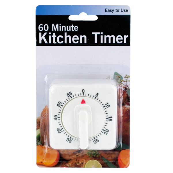 60 Minute Manual Dial Kitchen Timer