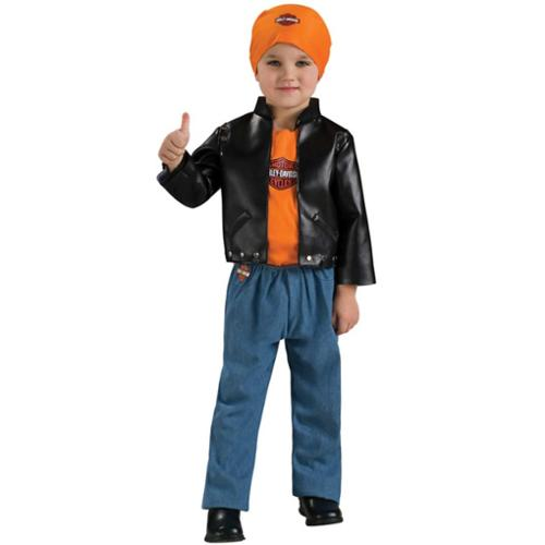 Toddler Harley Davidson Costume by Rubies