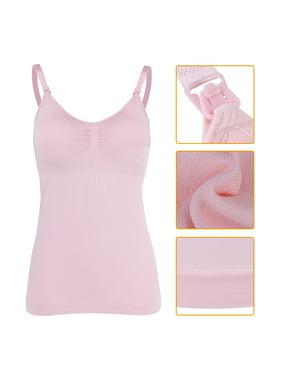 87747b178b99d Product Image Nursing Tank Top,Fosa 3Colors Slim Breastfeeding Tank Top  with Built-in Nursing Bra