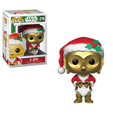 Funko POP! Star Wars: Holiday - C-3PO as Santa ()