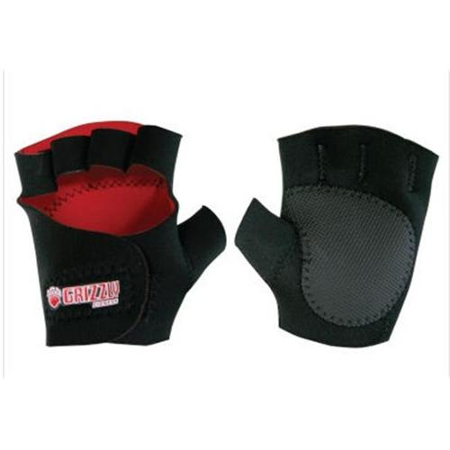 Grizzly Fitness 8732-04 Sticky Paw Neoprene Training Glove- Size Large