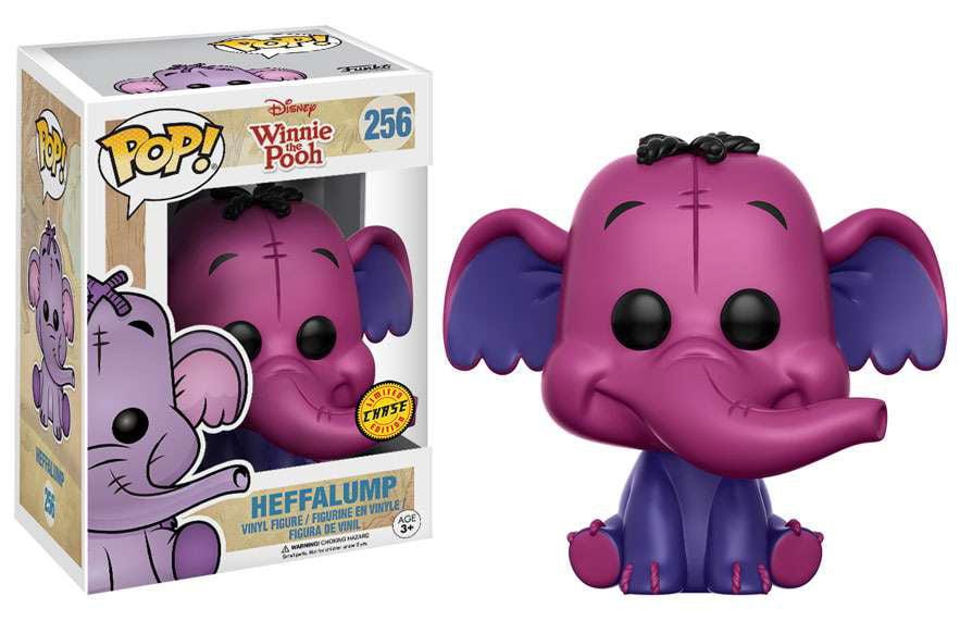 Winnie the Pooh Funko POP! Disney Heffalump Vinyl Figure [Chase Dark Purple] by