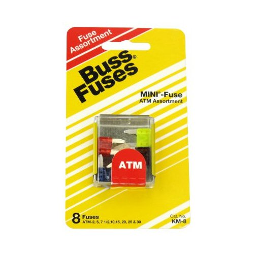 Assorted ATM Mini Blade Auto Fuses (Pack of 8)