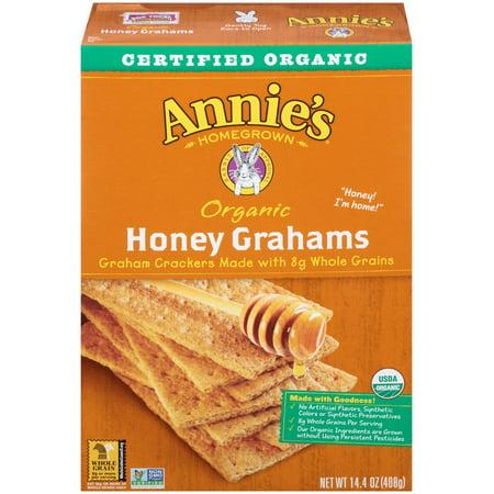 Annie's Homegrown Organic Honey Grahams 14.4 Oz