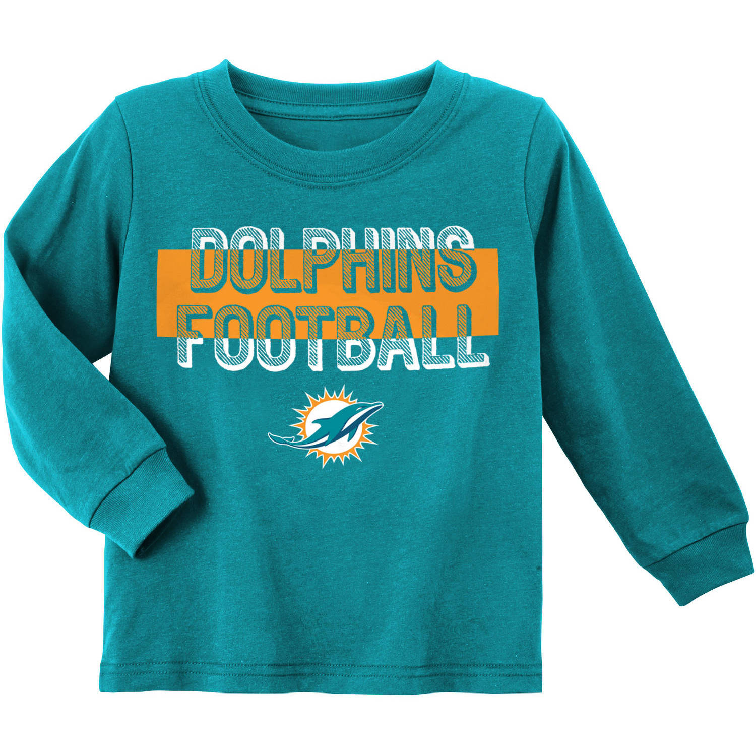 NFL Miami Dolphins Toddler Long Sleeve Tee