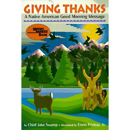 Giving Thanks: A Native American Good Morning Message (Paperback)](Good Morning America Halloween Prank)