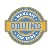Boston Bruins Official NHL Fan Zone Wood Sign by SJT Enterprises 905470