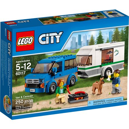 Logo Van - LEGO City Great Vehicles Van & Caravan 60117