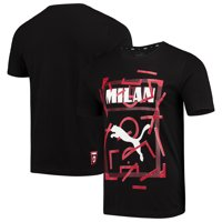 AC Milan Puma DNA T-Shirt - Black