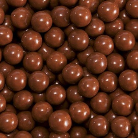 BAYSIDE CANDY SIXLETS BROWN, 1LB (Brown Candy)