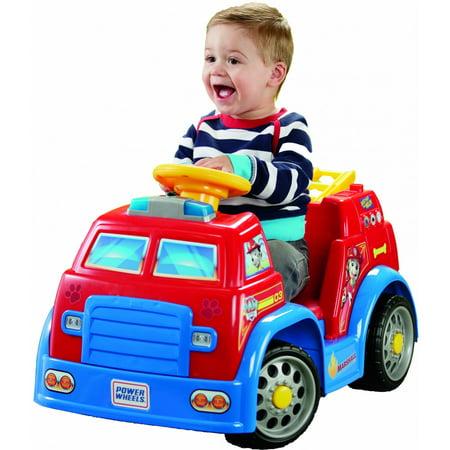 Power Wheels PAW Patrol Fire - Fire Truck For Kids To Ride