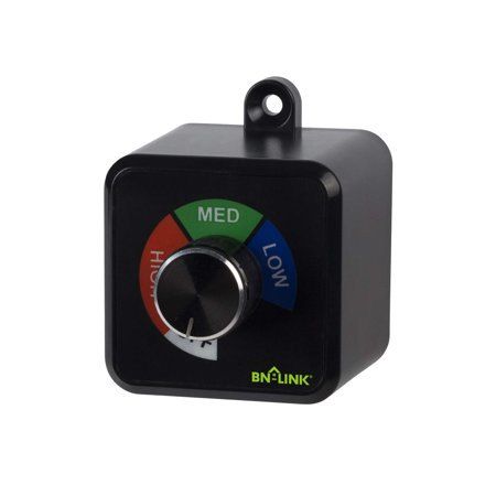 BN-LINK Fan Speed Controller for Ventilation Fans 4.8A / 600W Fan Controller Program